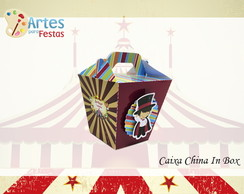 Caixa China in Box Circo Vintage