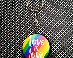 Chaveiro: Love is love