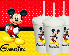 Copo Canudo Mickey 500ml