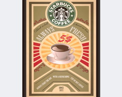 Quadro Starbucks Coffee