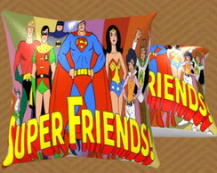 Almofada Personalizada 29x30 - Super Friends