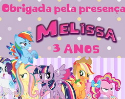 Tags para Lembrancinha My Little Pony