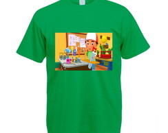 Camiseta Colorida Verde Handy Manny