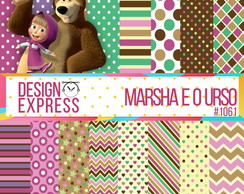 Papel Digital - Marsha e o Urso