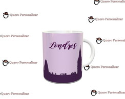 Caneca Londres - Porcelana 350ml - 1718