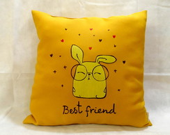Almofada Decorativa Best Friend
