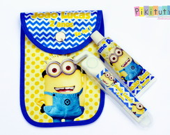 Kit Dental c/ porta escova Minions
