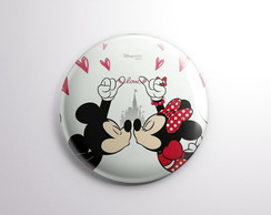 Bottons Minnie e Mickey - Button Boton