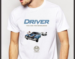 Camiseta Geek Games Driver