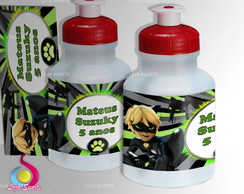 Rótulo Squeeze 300ml CAT NOIR