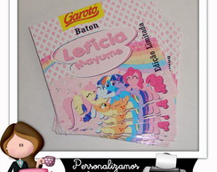Rótulo para baton my little pony