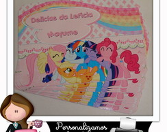 Tampa para marmitinha 250 ml my little pony