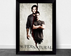poster quadro Supernatural And Begins
