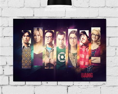 Placas Decorativas The Big Bang Theory