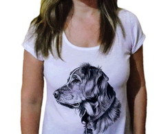 Camiseta Feminina Golden Retriever