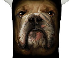Camiseta Bulldog Face - Regata