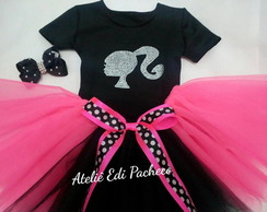 Kit Barbie Preto