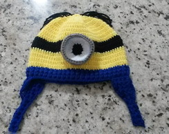 Touca de Croche Minion Stuart