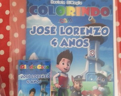 Kit de Colorir com giz de cera