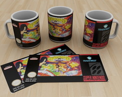 Caneca Super Nintendo Battletoads 1