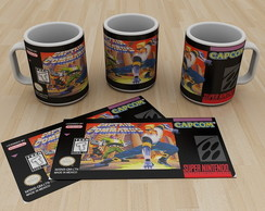 Caneca Super Nintendo Captain commando