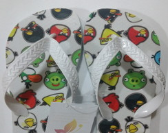Chinelo Infanto Juvenil Angry Birds
