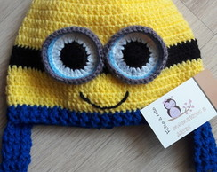 4 Touca de Croche Minion