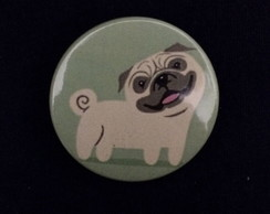 Botton Cachorro Pug