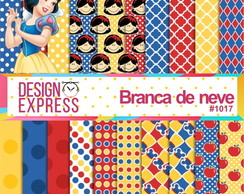 Kit papel Digital - Branca de neve