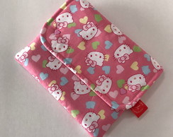 Bolsinha para Kindle (Hello Kitty Rosa)