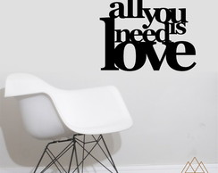 Adesivo All is need love AEF02