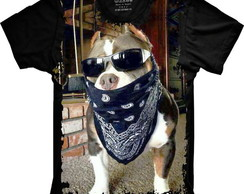 Camiseta Divertida - Pitbull