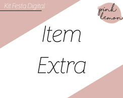 Item Extra - Kit Festa Digital