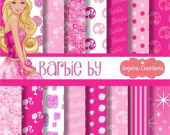Kit Digital Scrapbook Barbie 4