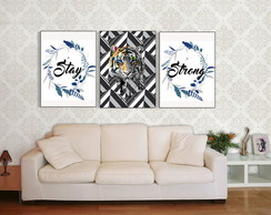 "KIT Quadros ""Stay Strong"""