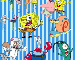 Kit Digital Scrapbook Bob Esponja 4