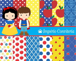 Kit Digital Scrapbook Branca de Neve 12