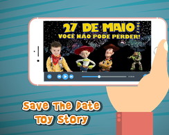 Save the date animado Toy Story