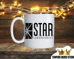 Caneca The Flash - Star Laboratories
