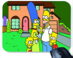 Mouse Pad Personalizado - Os Simpsons