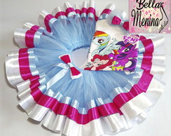 Conjunto Saia Tutu My Little Pony
