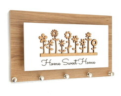 Porta Chaves e Cartas Garden Home Sweet Home