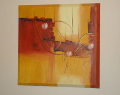 Quadro abstrato painel