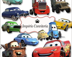 Kit Digital Scrapbook Carros Disney Cars 4