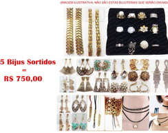 Kit c/ 125 Pares de Brincos