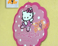 Placa Hello Kitty