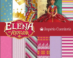 Kit Digital Scrapbook Elena de Avalor 1