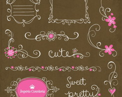 Kit Digital Scrapbook Frames 12