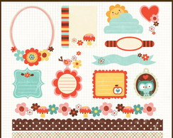 Kit Digital Scrapbook Frames 20