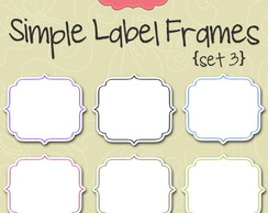 Kit Digital Scrapbook Frames 22